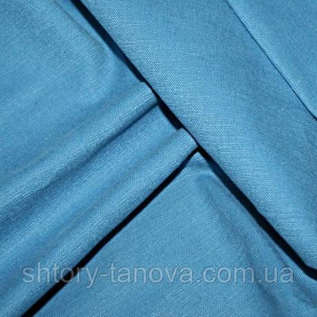Ткань для обивки и штор хлопок софт, т.голубой