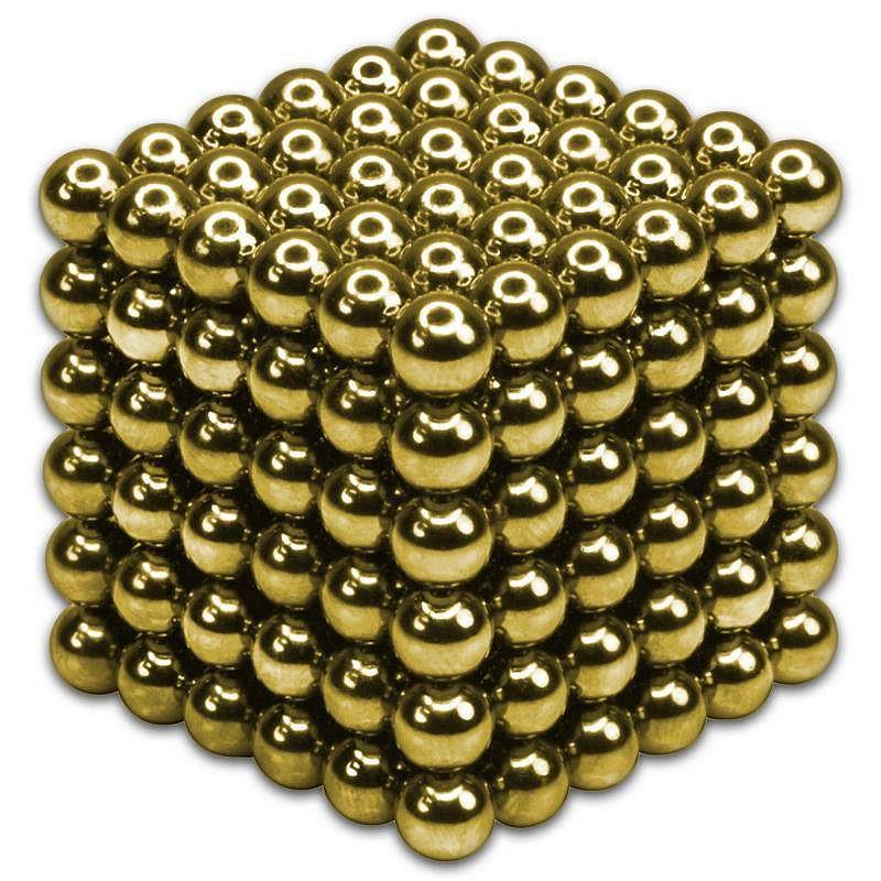 Неокуб | Магнитные шарики | Магнитный конструктор NeoCub Gold
