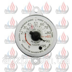 Циферблат к уровнемеру   Rochester для сжиженного газа
