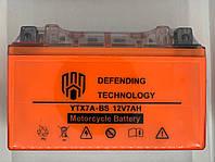 Аккумулятор мото 12В 7Ач Defending Technology YTX7ABS MF