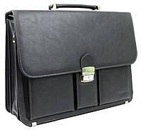 Деловой портфель из искусственной кожи Verto A10AA1 Серый, фото 1