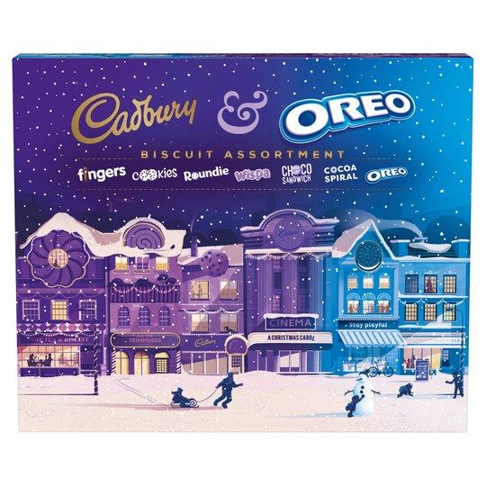 Бисквитный набор Cadbury & Oreo Biscuit Assortment 500 g