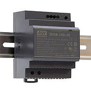 Блок питания Mean Well на DIN-рейку 90Вт 12В IP20 (HDR-100-12N)