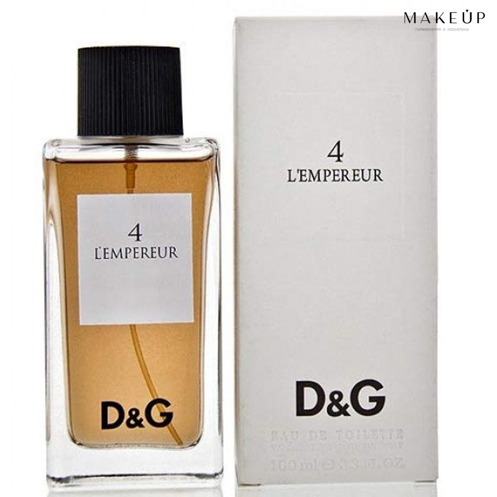 Мужская туалетная вода Dolce Gabbana Anthology 4 L`Empereur EDT 100 мл. | Лицензия Объединённые  Арабские Эмир