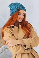 """Стильная женская шапка """" Н""""  Yulia, фото 1"""