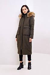 Куртка женская зимняя удлиненная Кортика | XS-M р.