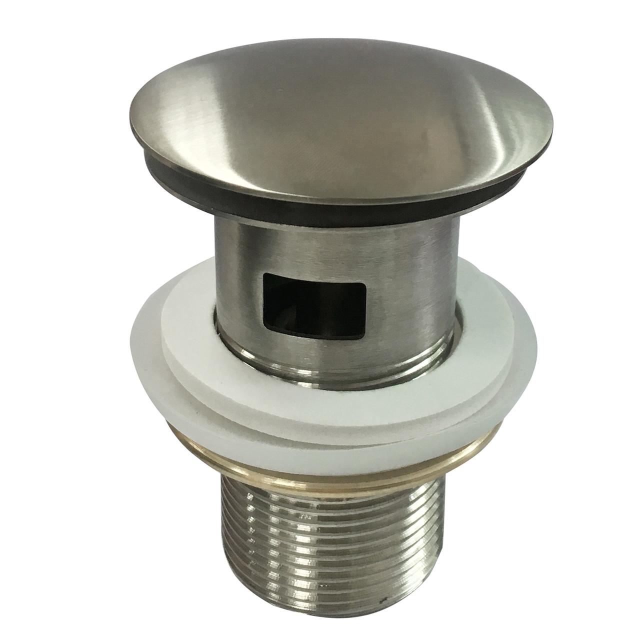 Донный клапан для раковины IMPRESE Hydrant Pop-up c переливом