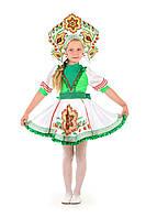 Детский карнавальный костюм Русский народный костюм «Журавушка» девочка на рост 115-125 см, фото 1