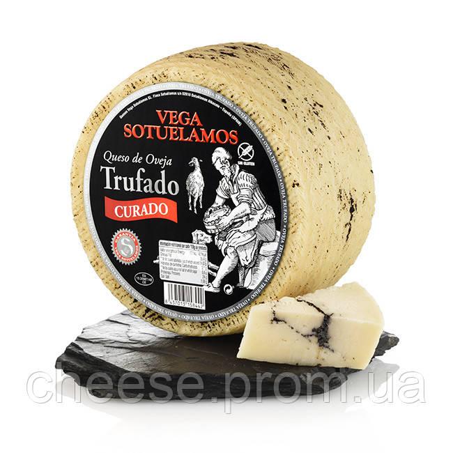 Сыр овечий копченный с трюфелем 55%  Испания