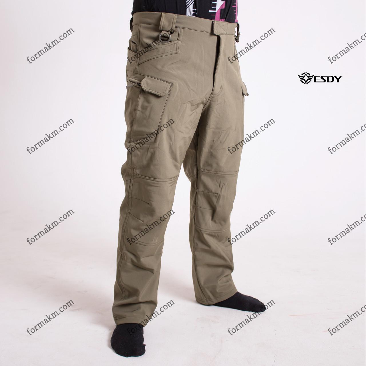 Тактические штаны Softshell Esdy Pro Olive