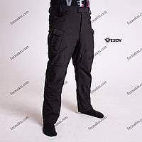 Тактические штаны Softshell Esdy Pro Черные, фото 1