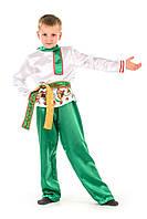 Детский карнавальный костюм Русский народный костюм «Журавушка» мальчик на рост 115-125 см, фото 1