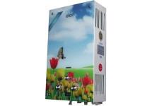 Газова колонка Діон JSD 10 дисплей тюльпани