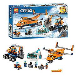 """Конструктор """"CITIES"""" """"Арктичний вантажний літак"""" (коробка) 743дет. 28021"""