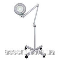Лампа-лупа с люминисцентной подсветкой