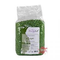 Воск пленочный в гранулах для депиляции BeautyHall Olive, 1 кг