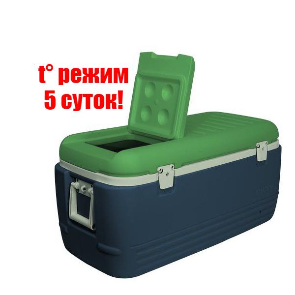 Термобокс Igloo Sportsman 100 на 95 л (термо контейнер - холодильник портативный большой)