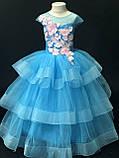 Пишне ошатне плаття Катрін на 4-5, 6-7, 8-9 років, фото 3