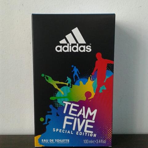 Туалетная вода Adidas Team five 100 ml