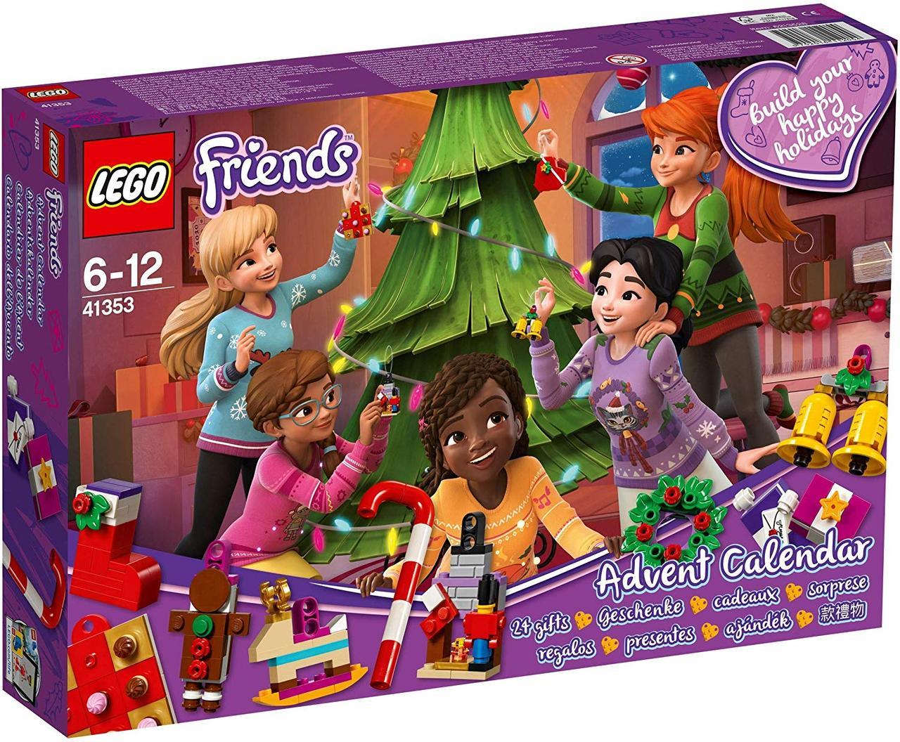 LEGO Новогодний календарь 2019. 500 деталей (41353) лего френдс рождественсий адвент календарь LEGO advent Подробнее: https://yestoys.com.ua/p1073966641-lego-novogodnij-kalendar.html