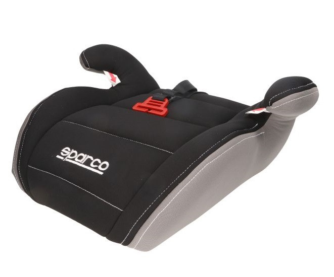 Детское автокресло бустер Sparco F100K BOOSTER 15-36kg black-grey