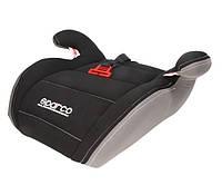 Детское автокресло бустер Sparco F100K BOOSTER 15-36kg black-grey, фото 1