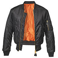 Куртка Brandit MA1 XL Черная 3149.2-XL, КОД: 260101