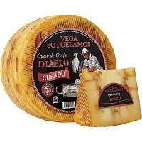 Сыр овечий копченныйс красным перцем Испания 3,2 кг