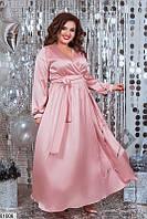Новогоднее вечернее платье в пол больших размеров