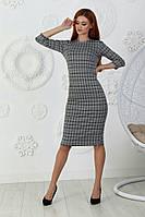 ЖІноче джинсове плаття в клітинку . Р-ри 42-48, фото 1