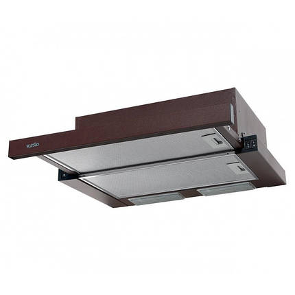 Вытяжка VENTOLUX GARDA 60 BR (800) SMD LED, фото 2