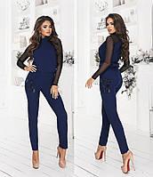 """Жіночий повсякденний костюм """"Блуза і брюки"""" Yulia, фото 1"""