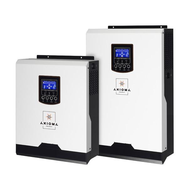 Автономний інвертор 3000ВА, 24В + МППТ контролер 40А, ISMPPT 3000, AXIOMA energy