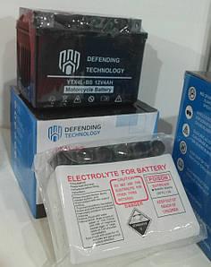 Аккумулятор мото обслуживаемый 12В 4Ач YTX4LBS Dry