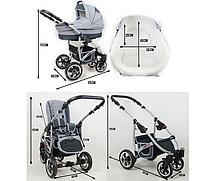 Детская коляска 3в1 LARGO RAF-POL, фото 3