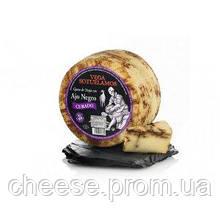 Сыр овечий копченный с черным чесноком  55% Испания 3,2кг