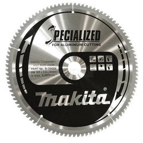 Пильный диск Makita для алюминия SPECIALIZED 305х30 мм 100Т (B-09684)