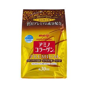 Японский Премиум Питьевой коллаген+гиалуроновая кислота+Q10 MEIJI Amino Collagen Premium 214g (на 30 дней)