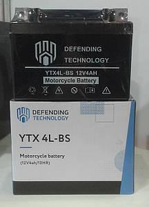 Аккумулятор мото необслуживаемый 12В 4Ач YTX4LBS