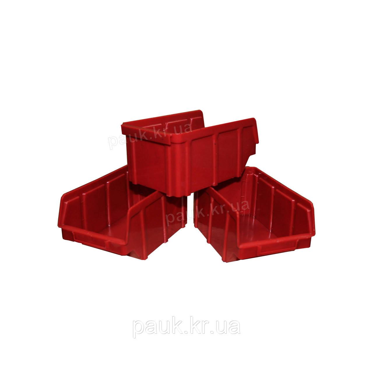 Ящик для метизів 702 для зберігання дрібних металовиробів, складський контейнер, з первинної сировини