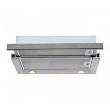 Вытяжка VENTOLUX GARDA 60 INOX (800) LED, фото 2