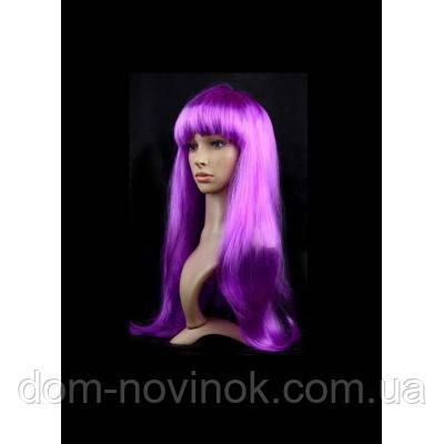 Парик ровный люкс (фиолетовый)