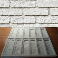 Силиконовая форма для плитки Лофт на 12 штук