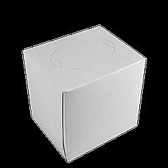 Салфетки косметические 80л , 2-х сл белые (куб)