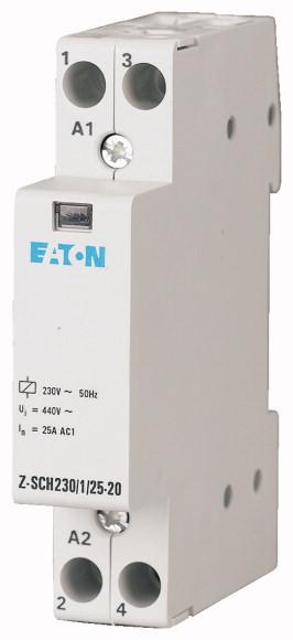 Контактор модульный Z-SCH230/1/25-20 25А 2НО 230В 2р Eaton (Moeller) 5403