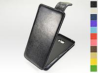 Откидной чехол из натуральной кожи для Samsung Galaxy Note 7 Duos N930F