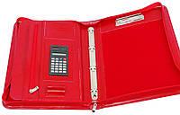 Женская деловая папка A4 из искусственной кожи AMO SSBW04 красный, фото 1