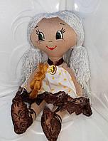 Куколка Муся, мягкая игрушка, игрушка для детей, текстиляна лялька, кукла для детей, кукла, лялька