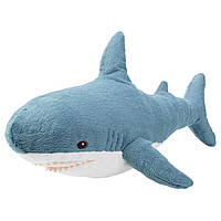 IKEA BLAHAJ  Мягкая игрушка акула 55 см (504.552.34)