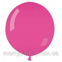 """Воздушный шар пастель розовый 39"""" (100 см)  очень плотный, широкое горло G-06 Gemar Италия"""